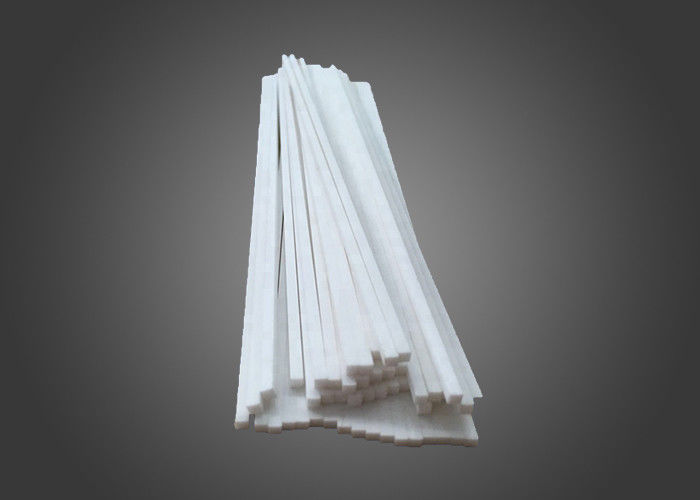 3mm / 8mm Precision Zirconia Toughened Alumina , Thermal Insulation Ceramic Heating Element Rod