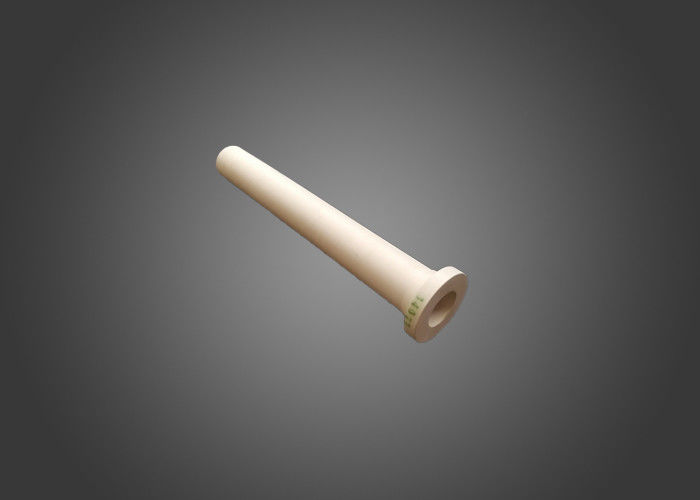 LPDC Aluminium Oxide Ceramic , White High Alumina Ceramic Tube For Wheel